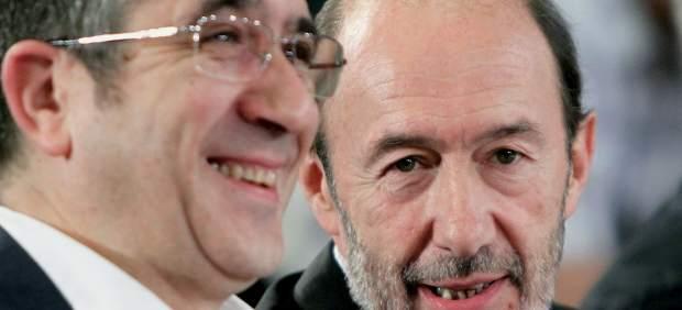 Patxi López y Rubalcaba