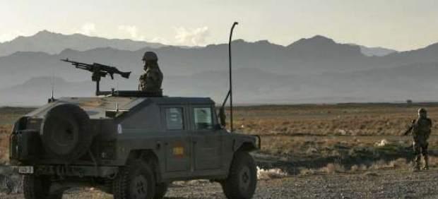 Soldados espa�oles en Afganist�n