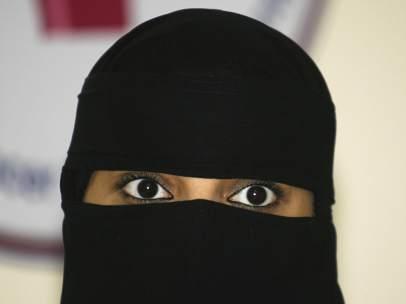 Una mujer de Arabia Saudí