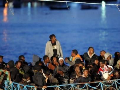 Inmigrantes en Italia