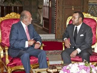 Juan Carlos I y Mohamed VI