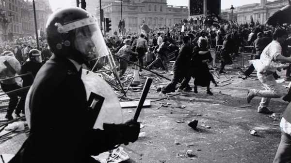Revueltas contra la subida de impuestos, 1990