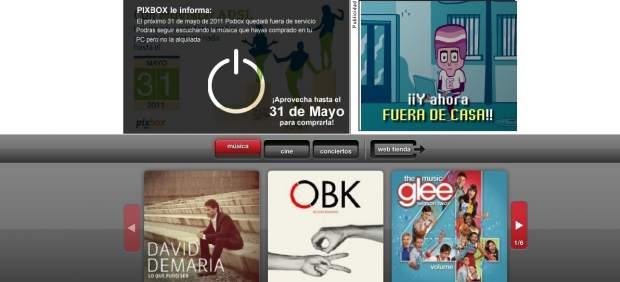 Telefónica anuncia el cierre de su servicio de contenidos multimedia Pixbox