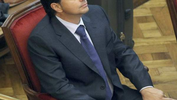 Lluís Corominas, en el banquillo de los acusados.