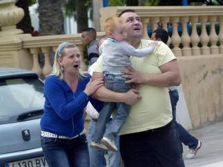 Terror durante el terremoto