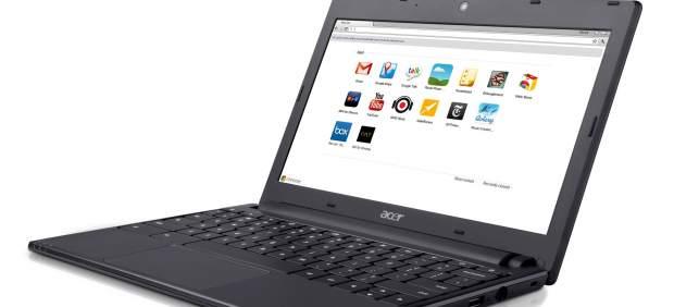Google presenta sus ordenadores Chromebook, diseñados para operar en 'la nube'