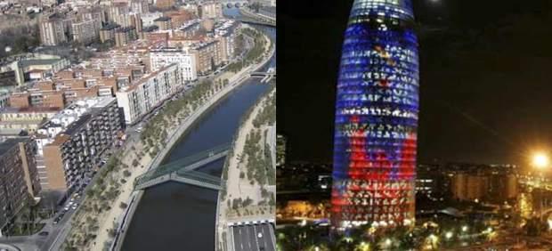 Madrileños y barceloneses, felices de vivir en su ciudad