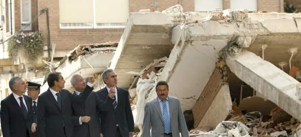 Zapatero visitando Lorca