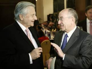 Jean-Claude Trichet, presidente del BCE