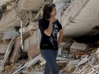 Afectados por el terremoto