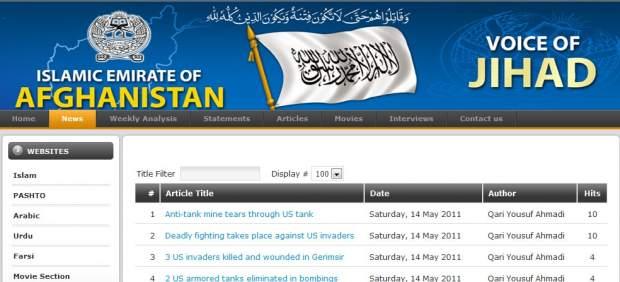 Los talibanes afganos echan mano del inglés en Twitter para difundir su mensaje
