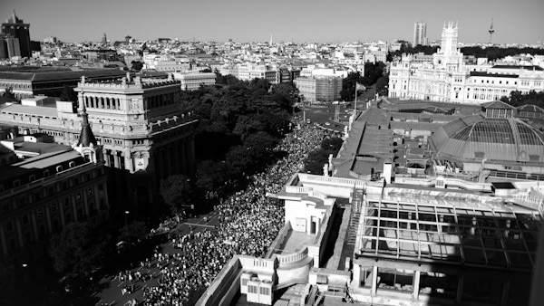 Marcha en la capital