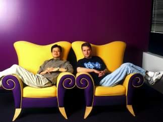 Jerry Yang y David Filo