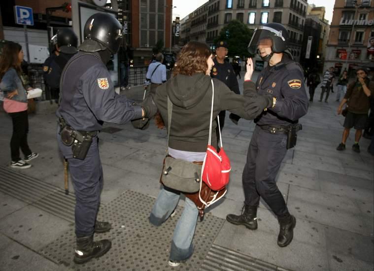Desalojo policial