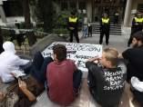 Concentración por los detenidos