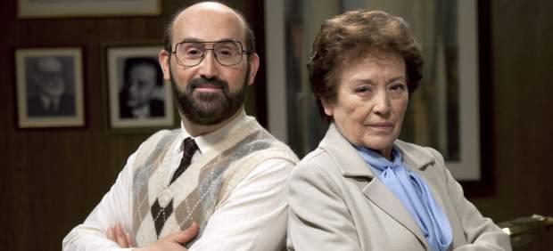 Javier Cámara y Amparo Baró