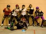 Las chicas de las Barcelona Derby Dolls