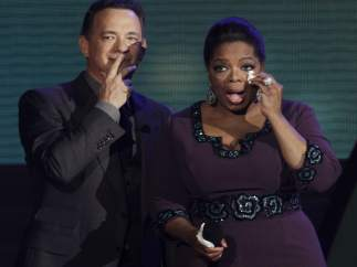 Tom Hanks y Oprah Winfrey