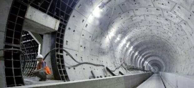 Túnel en construcción