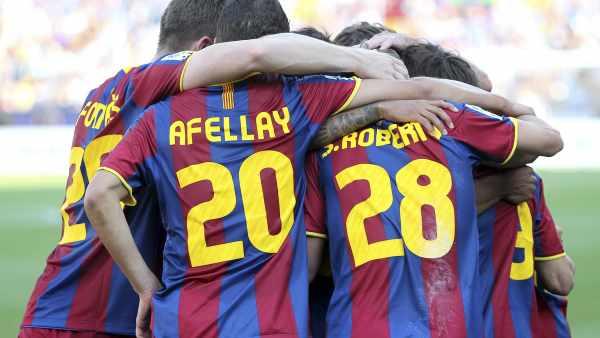 Afellay con el Barça