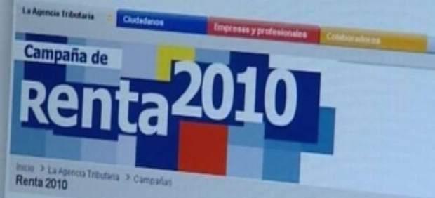 Declaración de la renta 2010