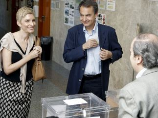 Zapatero vota