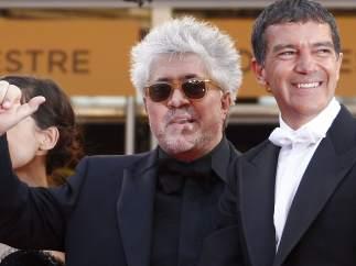 Pedro Almodovar y Antonio Banderas