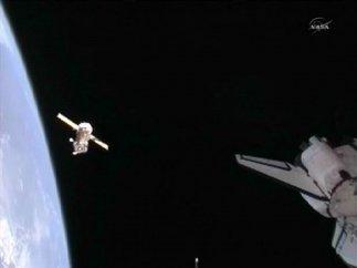 La Soyuz surca el espacio