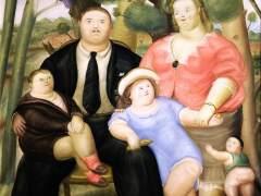 """Fernando Botero, """"Una familia"""""""
