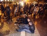 Decenas de detenidos en Tiflis, Georgia
