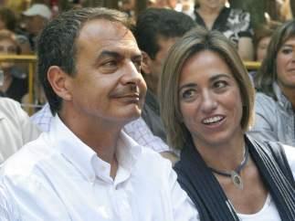 Zapatero y Chacón