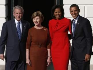 Con los Bush