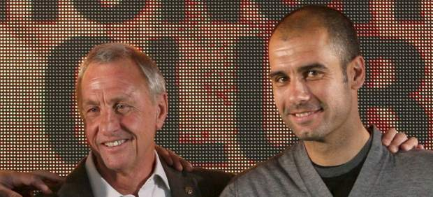 Guardiola y Cruyff