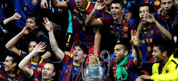 Barça campeón de Europa