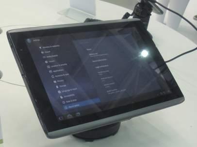 La tableta Iconia 500