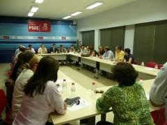 militantes regionales del PSOE