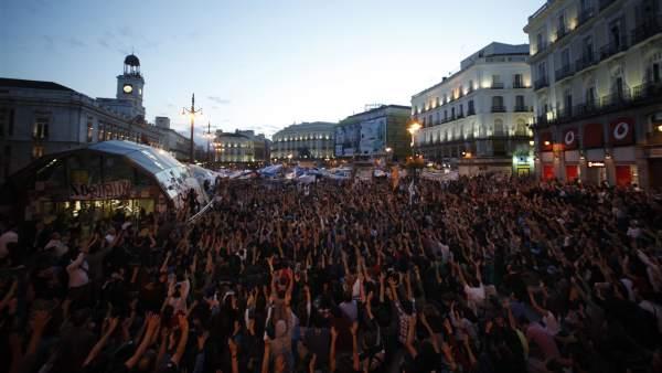 Asamblea en la Puerta del Sol