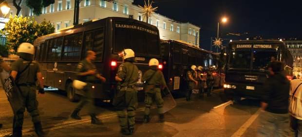 Indignados en Grecia