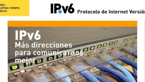 Portal de IPv6 del Ministerio de Industria