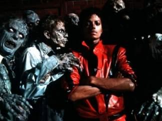 Michael Jackson, en 'Thriller'