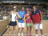 Almagro, Anabel Medina, Juan Carlos Ferrero y Maria José Martinez