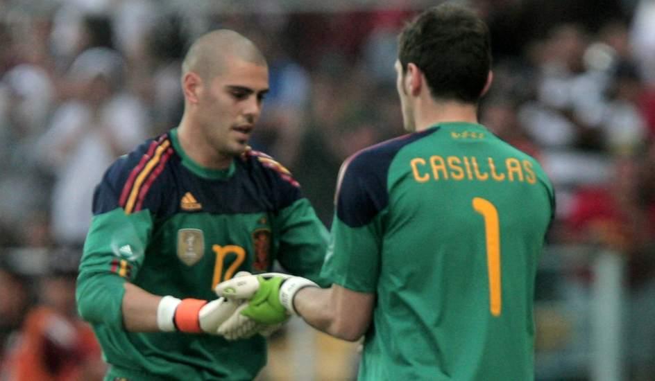 Casillas homenajea a vald s no hace falta ver tu for Haces falta trabajo barcelona