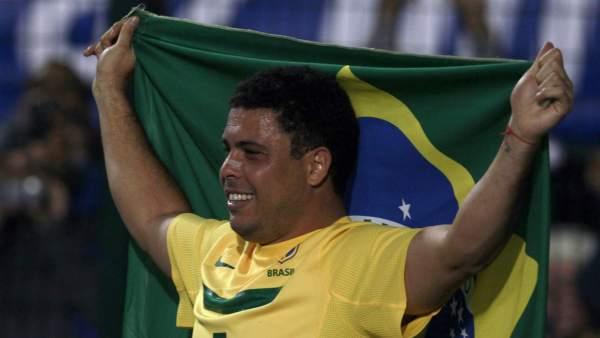 Último partido de Ronaldo con Brasil