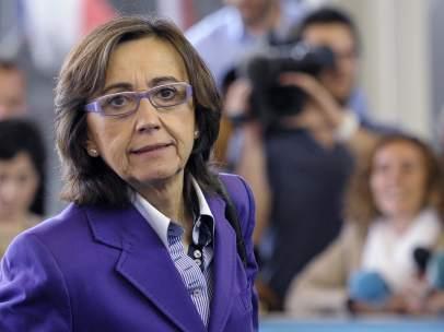 La ministra de Medio Ambiente, Rosa Aguilar