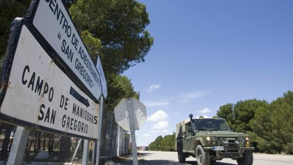 Militar muerto en Zaragoza