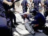 Cargas policiales en Valencia