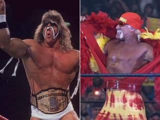 El último guerrero y Hulk Hogan