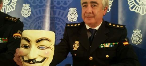 Investigan un posible robo por parte de Anonymous de datos de los escoltas de Zapatero