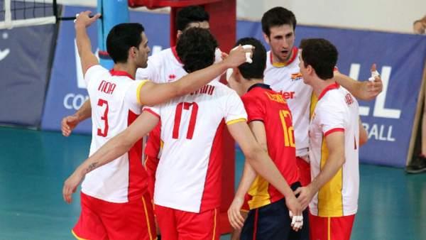 Selección española de voley