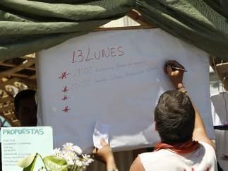 Continúa el 15-M sin las acampadas
